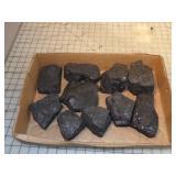 "10pc Coal - 7.75 lbs - 2.5x3x2.5"" size pieces"