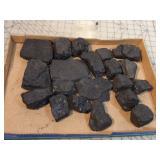 """20pc Coal - 5.25 lbs - 1x2x3"""" to 3x5x1"""""""