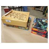 Board Games & puzzles (4pcs)