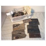 Lionel Onloader bins, control track & switches