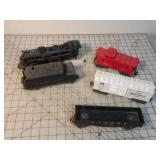 Lionel Engine, Tender & cars (5pcs) O27 scale