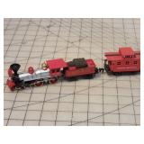 HO Gauge Juniper Steam engine & Tender, caboose