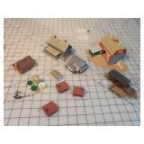 N Gauge Buildings (assembled)