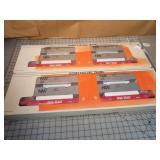2pc Lionel Norfolk & Western Maxi-Stack FlatCars