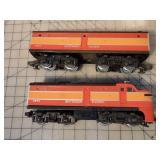 Lionel Southern Pacific A&B Locomotive Set w/Box