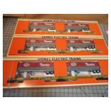3pc Lionel NYC T.T.U.X. Articulated Trailer Cars