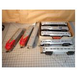 8pc Lionel Santa Fe Passenger Train Set