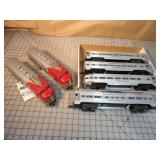 6pc Lionel Santa Fe Passenger Train Set