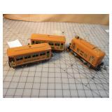 Lionel PreWar Tin Passenger Train Set