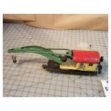 Lionel PreWar Tin 10-ton Crane Car