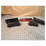 Lionel 5pcs - Steam engine Tenders & cars