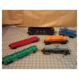 Lionel 6pcs - tanker, & freight