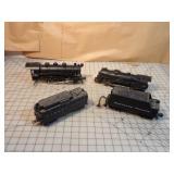 MTH & Lionel 4pcs - Steam engine & tenders