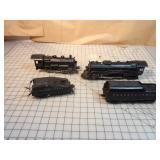Lionel 4pcs - steam engines & tenders