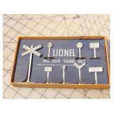 Lionel No. 309 Yard Set w/ Box