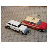 2pc Lionel Inspection Cars