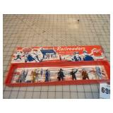 Lincoln Logs The Railroaders Metal Figure Set/ Box