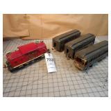 4pc Lionel Standard Ga Engine & NYC Passenger Cars