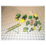 13pc Ertl & Other John Deere Equipment