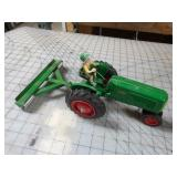 Spec-Cast Oliver 70 Tractor w/ Jimmy & Cultipacker