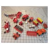 16pc Small Model Implements - Some Ertl