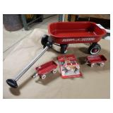 4pc Radio Flyer Red Wagon Set