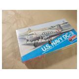 Monogram US Navy DC-3 Model Plane Kit