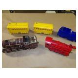 4pc Schilling Train w/ Engine & Extra Engine
