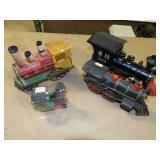 4pc Train Engine Toys / Ornaments