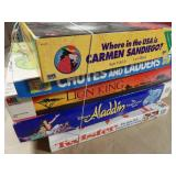5pc Board Games - Twister, Chutes & Ladders, Etc