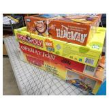 4pc Board Games - Operation, Hangman, Mouse Trap
