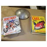 Dirtbike & Automotive Magazines & VW Hubcap