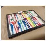 Cocktail Stir Stick Collection in Display Case