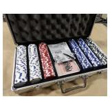 Excalibur World Series Poker Set w/ Case