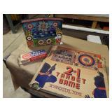 Wyandotte Tin Rubber-Dart Target Game w/ Box