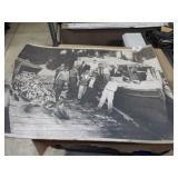 "Vintage 24x36"" Fisherman"
