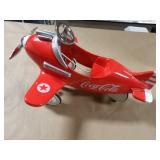 Coca-Cola Diecast Airplane (Mini Pedal Car)