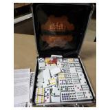 Domino Set w/ Metal Carry Case
