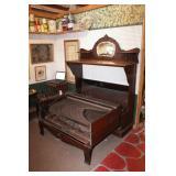 Antique Folding Bed