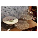 Cake Plates - 5 Pc