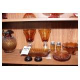 Amber Glass - 10 Pc