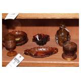 Amber Glass - 8 Pc