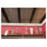 Vases Various Size and Shape - 7 Pc