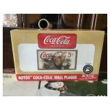 Boyds bear Coca-Cola wall plate