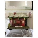 Coca-Cola battery operated house