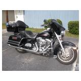 2012 Harley Davidson Electra Glide Classic Motorcycle