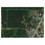 Blythewood SC Home on 12.76 Acres with 4,000 sq ft Building