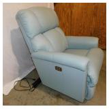 Lazy Boy Leather Electric Power Recliner Chair - Like New!