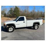 2003 GMC Sierra 2500 HD Pickup Truck,