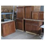 (6) Cabinet with Counter
